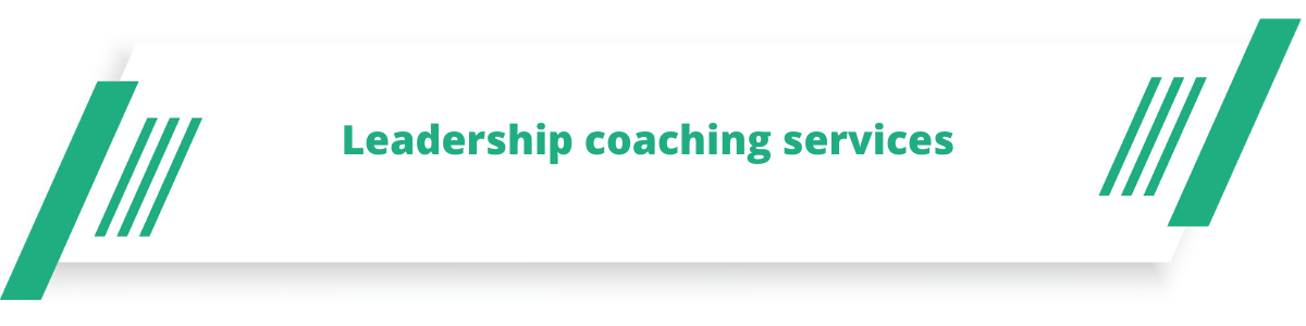 Leadership coaching services