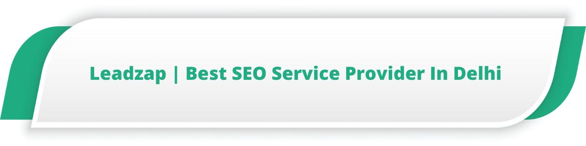 Leadzap | Best SEO Service Provider In Delhi