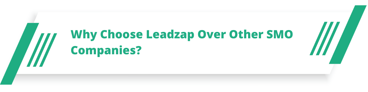 Why Choose Leadzap Over Other SMO Companies?