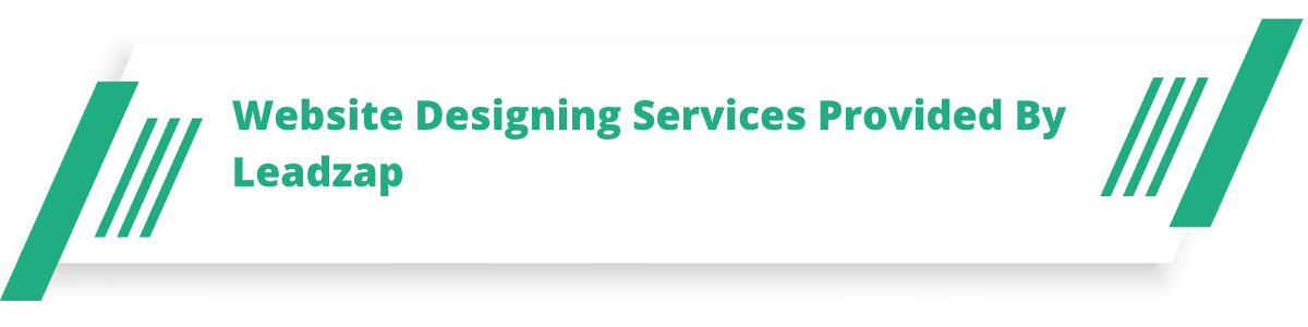 Website Designing Services Provided By Leadzap